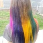 rainbow-color-cut-style